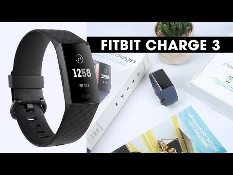 Đánh giá chi tiết Fitbit Charge 3 l Dòng Fitness Tracker thể thao thế hệ mới