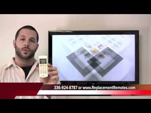 Buy Panasonic A75c2598 Cwa75c2598 Air Conditioner Unit Remote Control