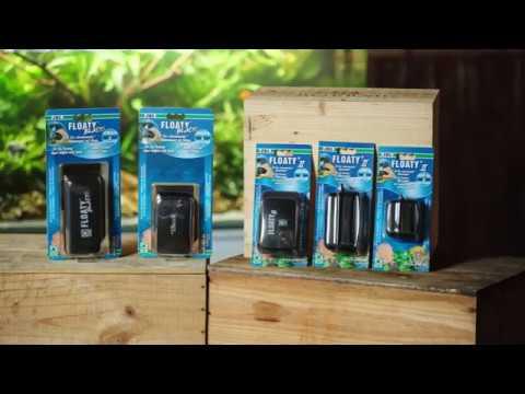 JBL Floaty schwimmender Scheibenreiniger mit Magnet für saubere Scheiben im Aquarium