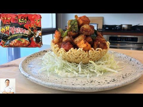 Spicy Ramen Bird's Nest | Samyang 2X Spicy