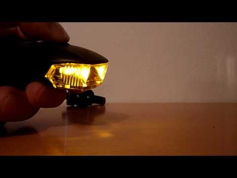 LED Fahrradbeleuchtung, ECHTPower USB Wiederaufladbare Led Smart Fahrradlampe