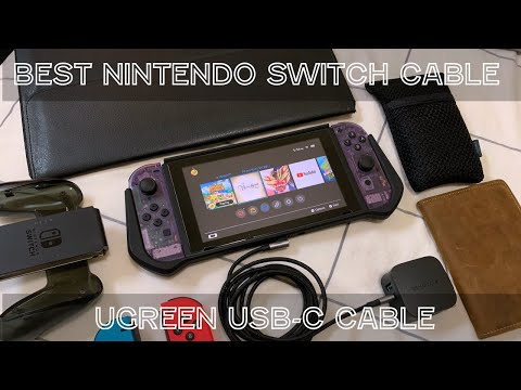 Best Cable for Nintendo Switch:  Have a Switch? You need this cable!