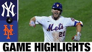 Pete Alonso hits walk-off homer vs. Yankees | Yankees-Mets Game Highlights 9/3/20