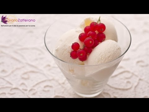 Video Yogurt ice cream - recipe
