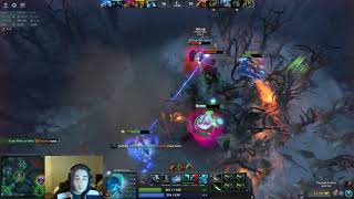 Morphling Mid at 7000 MMR Average ft Rampage | Stream Highlight #1