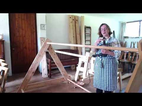 Wanda Stehr -  13.08.20187 - Das Wikinger Zelt selbstgebaut