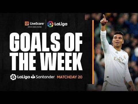 Goals of the Week: Casemiro's chip and Rafinha's wonder strike MD20
