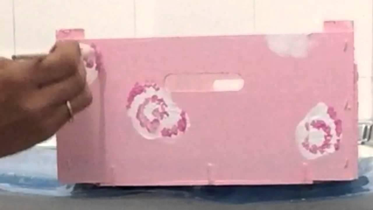Pintar cajas. Painting boxes. DIY