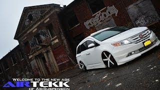 HONDA ODYSSEY AIR RIDE AIRTEKK AIR SUSPENSION SARONA VOSSEN