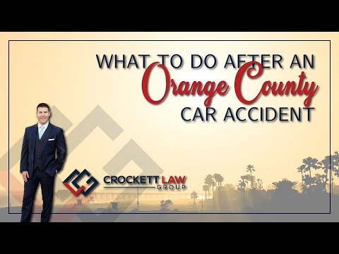 Orange County Car Accident Attorney | Free Case Review