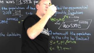 Exponential Function Word Problem