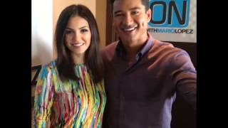 Виктория Джастис, Victoria Justice - On with Mario Lopez (03/04/2013)