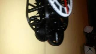 Mechanické hodiny z 3D tiskárny