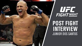 "UFC Wichita: Junior Dos Santos - ""I'm Feeling Amazing"""