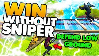 Win Without A Sniper!   Aggressive Playstyle Tips & Tricks   Fortnite Battle Royale
