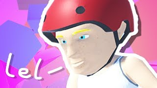 Remember Pogo Man from Happy Wheels? this is him now..