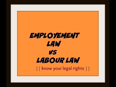 Employment Law Attorney | Labour Law | Legal Knowledge | Legal Help | India || Part 01 | Legal Gyan