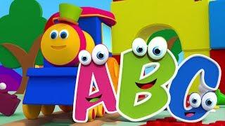 Bob xe lửa | Bài hát ABC | Học bảng chữ cái | Kids Rhyme | Abc For Kids | Bob The Train | ABC Song
