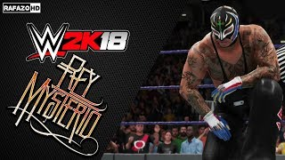 WWE 2K18 Creation: Rey Mysterio Showcase