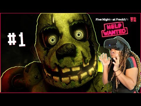 THIS IS WORSE!! | Five Nights at Freddy's VR: Help Wanted Part 1!!