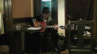 竹中直人さんギター弾き語り@池ノ上ボブテイル2016年1月