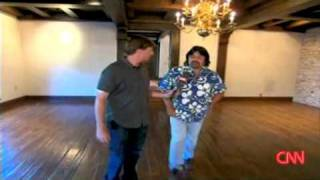 """Michael Jackson's """"GHOST"""" Caught live by CNN Larry King (full video tour)"""