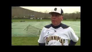 QU Baseball Coach Dan Gooley Feature on WTNH SportszEdge - April 25, 2014