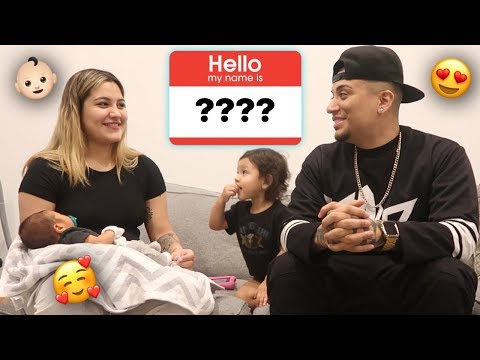 BABY NAME REVEAL!!!