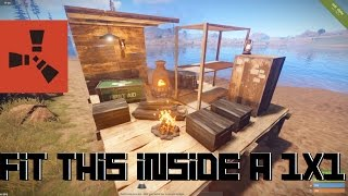RUST: How to fit a whole base in a 1x1