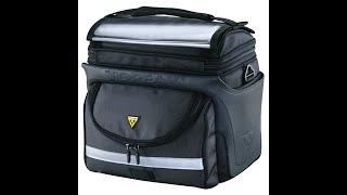 Обзор и распаковка! Topeak Tour Guide Handle Bar Bag DX (TT3022B) сумка на руль.