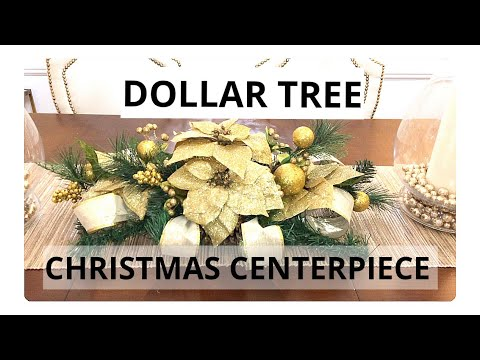 DOLLAR TREE CHRISTMAS CENTERPIECE DIY 2018 Mp3