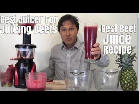 Video Best Juicer for Juicing Beets + Best Beet Juice Recipe