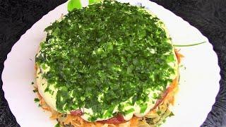 """Фантастически вкусный салат из баклажанов  """"Баклажанный Рай"""" ."""