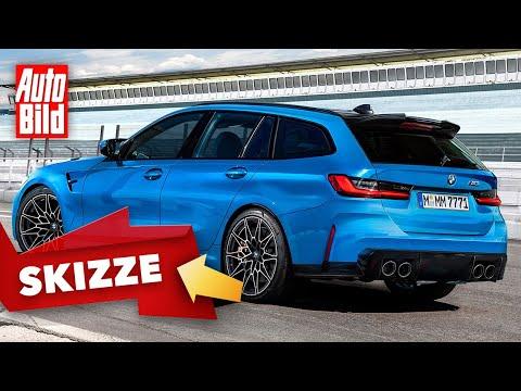 BMW M3 Touring (2023): Neuvorstellung - Skizze - Kombi - Motor - Info