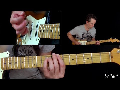 Angel Guitar Lesson - Aerosmith