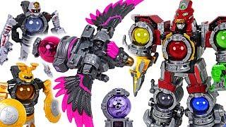 Dinosaur is changed! Power Rangers Uchuu Sentai Kyurenoh 04, 06, 08 Voyager combine! - DuDuPopTOY