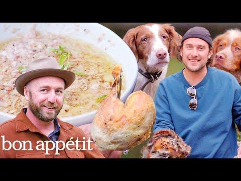 Brad Prepares and Cooks Pheasant | It's Alive