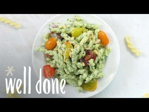 How To Make Pesto Pasta Salad | Recipes | Well Done