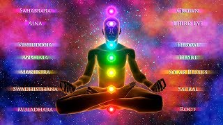 GOD Healing Frequencies: 12 Meridians Chi Energy ♡ All 7 Chakras ♡ 10000 Hz Full Restore Subtle Body