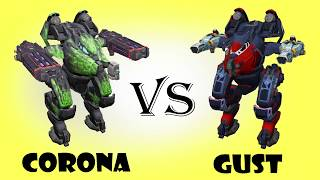 Rogatka (corona) vs Rogatka (gust)  Test#17 | War Robots