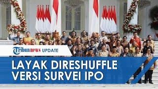 Survei IPO Ungkap Daftar Nama Menteri yang Layak Direshufflel, Muncul Nama Menkumham Yasonna Laoly