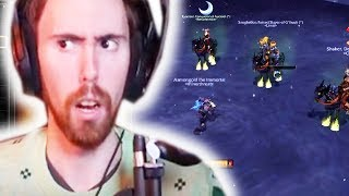 Asmongold Almost LOSES TO 3 PEOPLE IN HIS MOUNT OFF!?