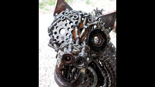 Junk Art Sculptures