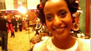 Fashion Week 2012 - Sara Nuru - Backstage Interview - Christina Duxa