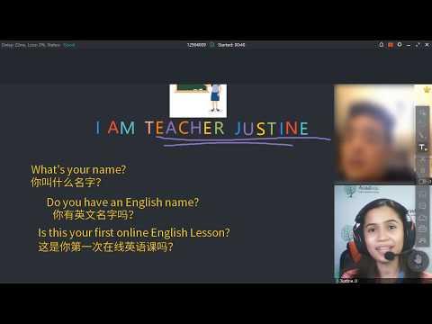 0-English Adult (Trial Class) - Sample Class #1 | Online ESL teacher