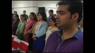 Karnal Bharat Vikas Parishad Shri Radha Krishan Shakha Sthapna Diwas Or Samman Samaroh