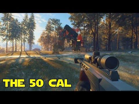 Hunting With The 50 Cal Generation Zero
