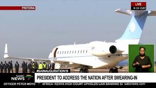 #INAUGURATION19 I Botswana president Masisi arrives