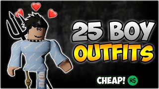 TOP 25 BEST ROBLOX BOY OUTFITS OF 2020💎😈 (FAN Outfits) | 5,000 Subscribers🎉