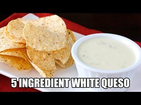 Video 5 Ingredient White Queso Dip Recipe | Episode 338